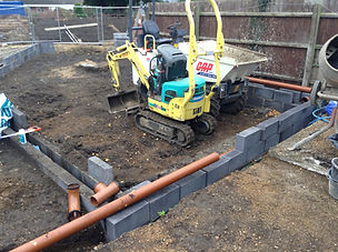 Foundations, Drainage and Over-site