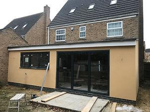 Single storey extension- kitchen extension