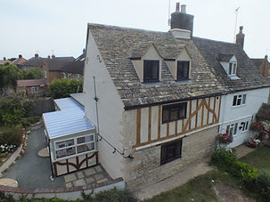 (Externals) Renovations and alterations to character property including loft conversion.