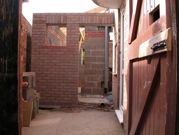 Single storey extension-2003-GMFBuilders