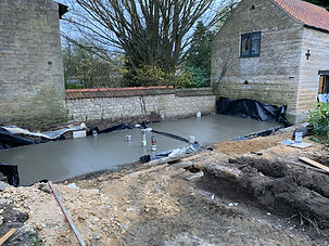 Foundations, Drainage, Oversite