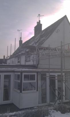 Greatford Renovation , external works, gmfbuilderspeterborough