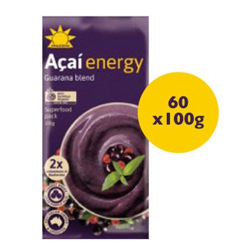 Amazonia Energy Açaí 60 x 100g Packs