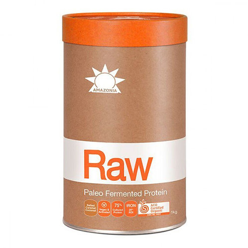 Raw Paleo Fermented Protein - Salted Caramel & Coconut 1kg