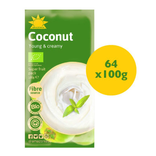 Amazonia Coconut 64x 100g Packs - Special Deal!