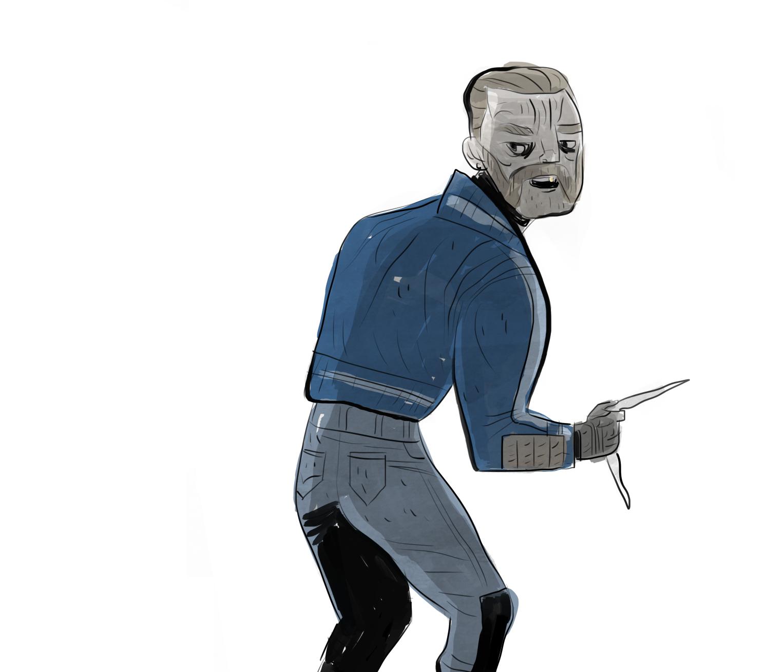 Suicide Squad's Captain Boomerang