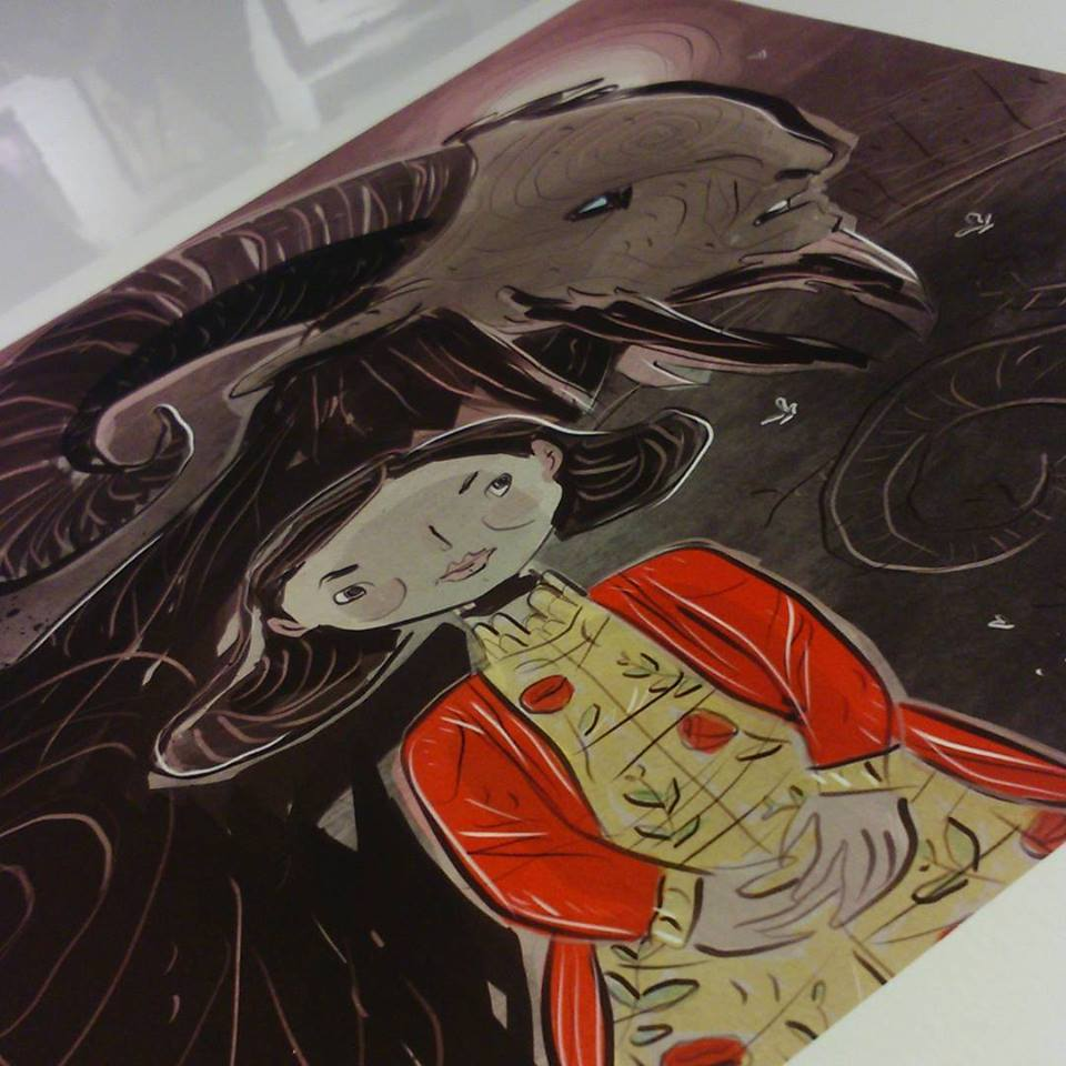 Pan's Labyrinth commission print