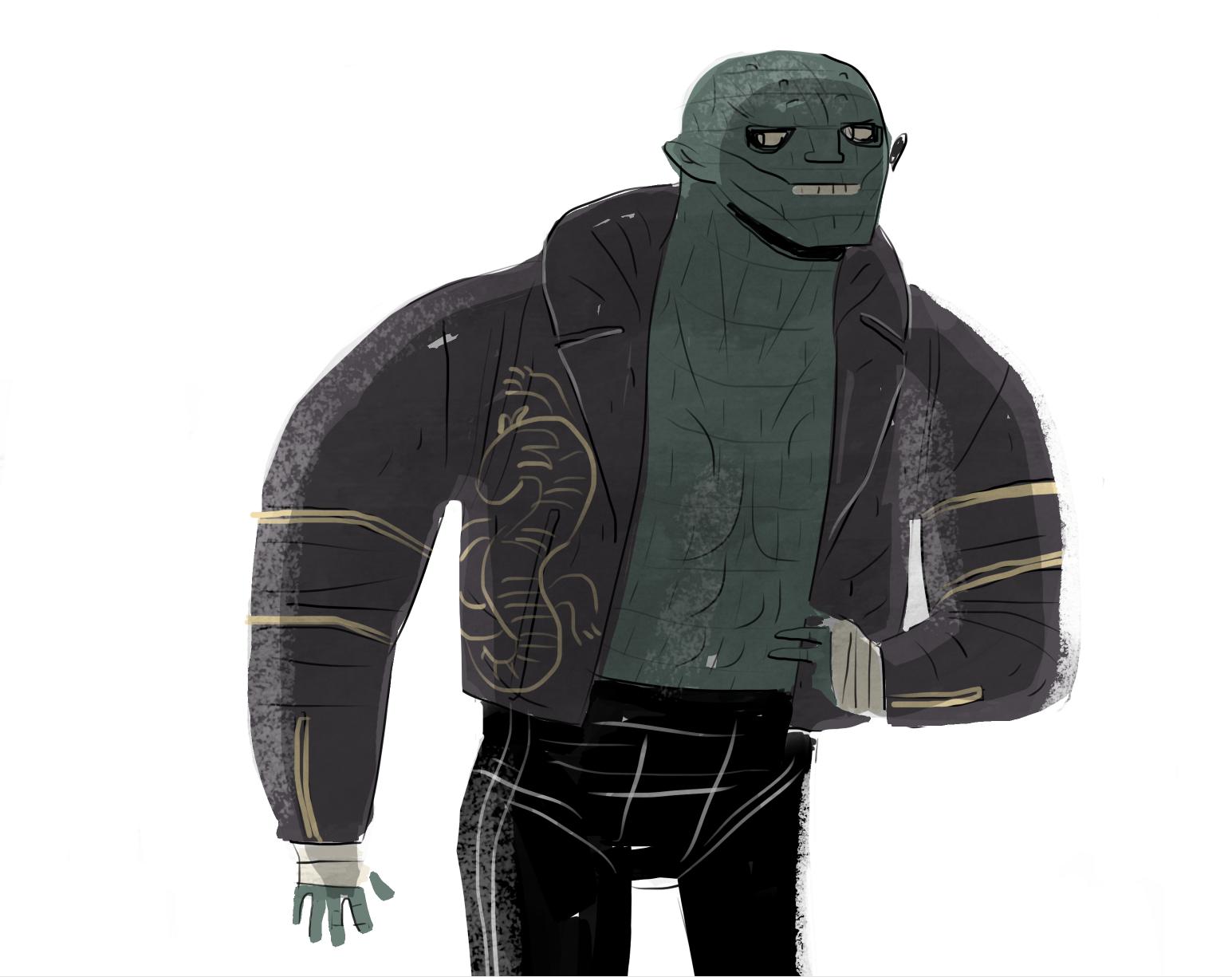 Suicide Squad's Killer Croc