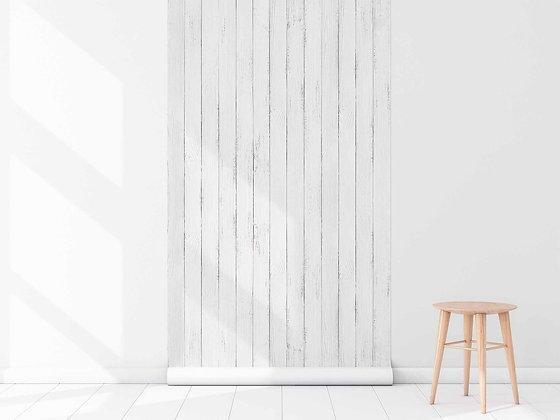 Papel Mural madera albayalde