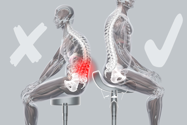 Good Posture Helps Reduce Back Pain