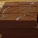 Tablete de chocolate de leite