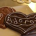 Coração grande - Chocolate negro