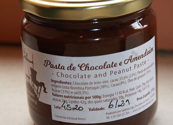 PASTA DE CHOCOLATE&AMENDOIM             -315G