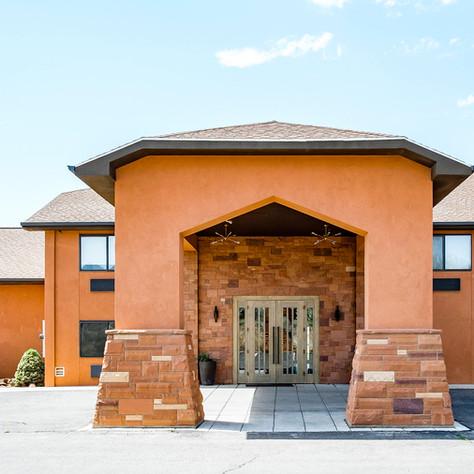 Red Sands Hotel Entrance