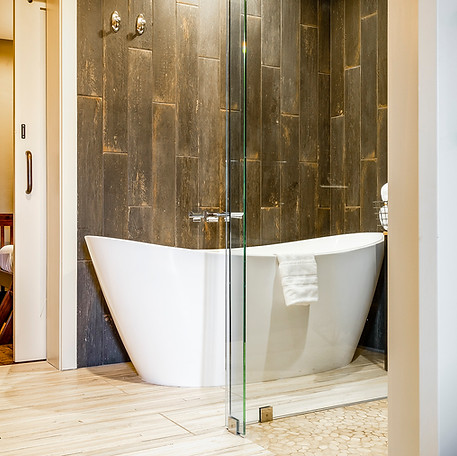 Spa Suite Bathtub and shower