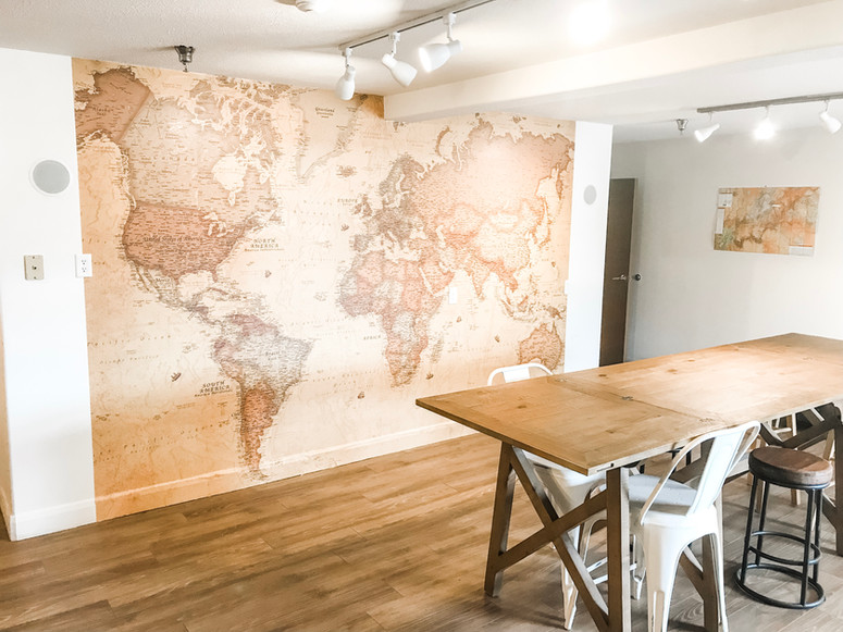 Map Room for Planning Adventures