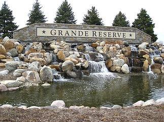Grande Reserve Yorkville Entrance Monument
