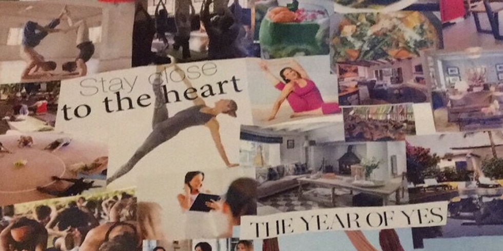 Embodied Mindful Yoga and Vision Board Workshop by Aneta Idczak