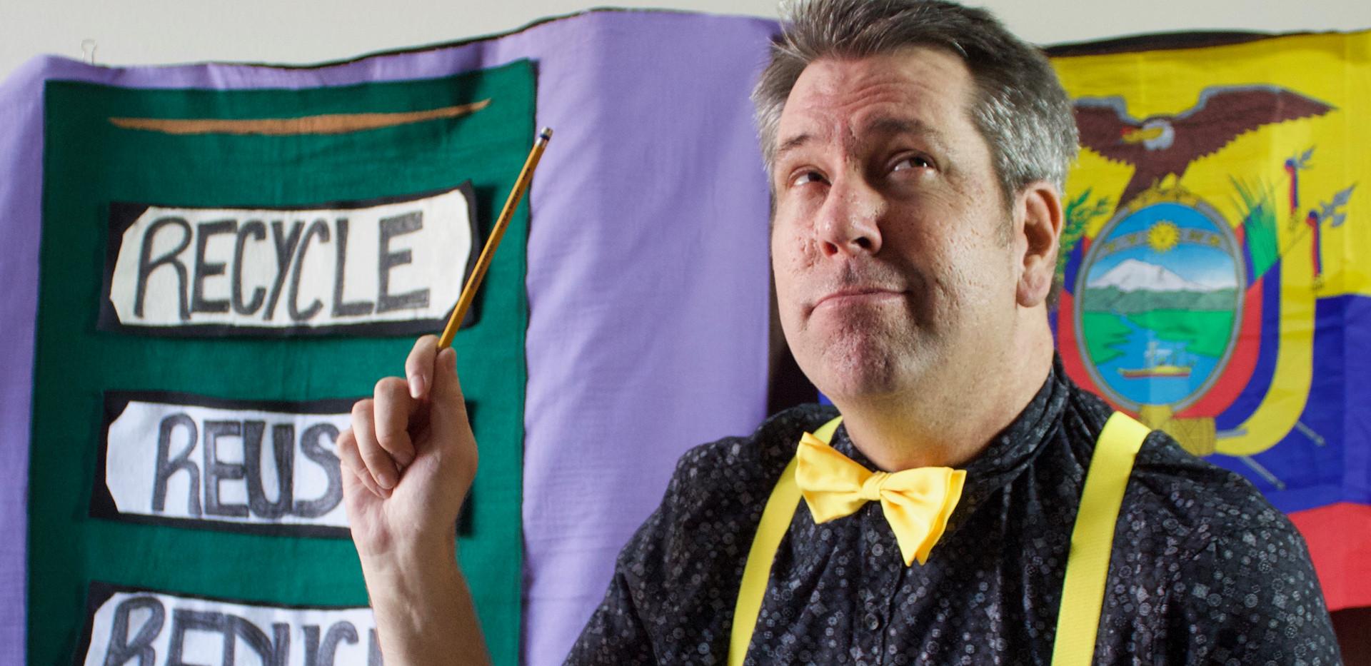 (The Teacher) El Profesor! GREEN is GOOD!
