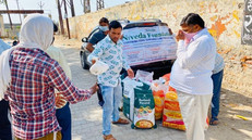 Jakson Group distributes food and dry ration to the poor
