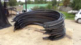 Ring rolling of tube as strengthener for tanks