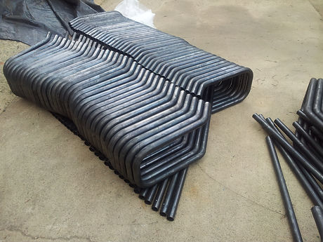 Tube bending of handles for pressure washers
