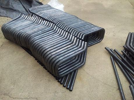 tube bending for handles