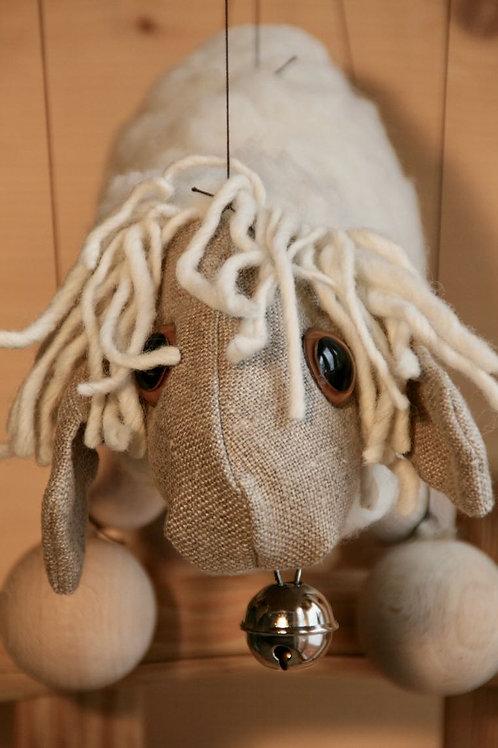 Marionette Schaf
