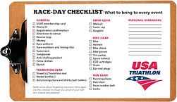 Water Country USA Kids Triathlon Race-Day Checklist