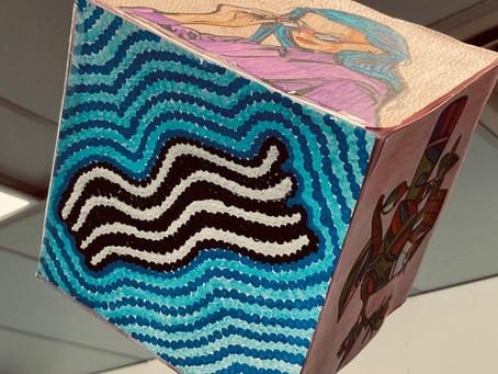 Visual Art Cubes