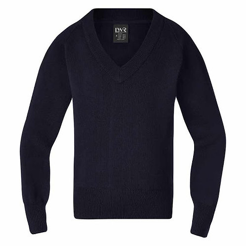 V - neck Knitted Jumper (smaller sizes)