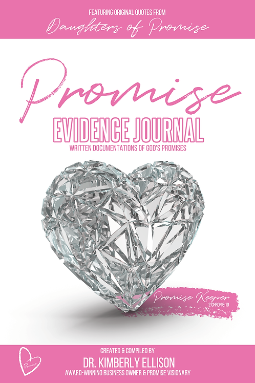 """Daughters of Promise """"Evidence"""" Journal"""