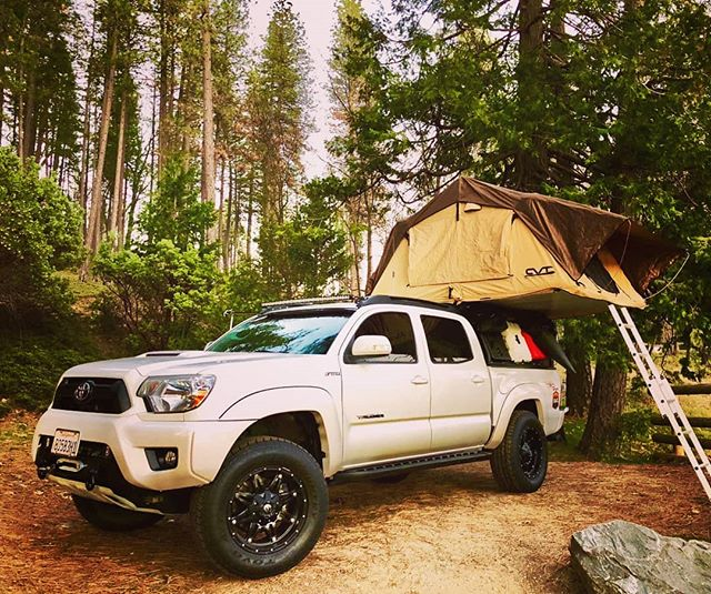 Camp Setup for the weekend_#norcaloverlanders #yotalife #trd #tacoma #campinglife #campiswhereyoupar