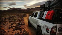 #toyota #trd #trailrunning #tacoma #deathvalley #desert #campiswhereyouparkit #yotalife