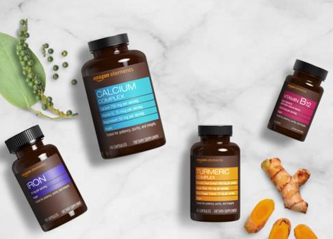Amazon Elements Vitamins & Supplements