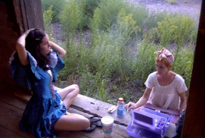 Kate and Genevieve swap roles for The Family Jewels: A Tragedy, 2002