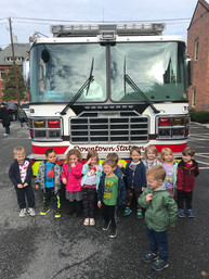 Fire truck day