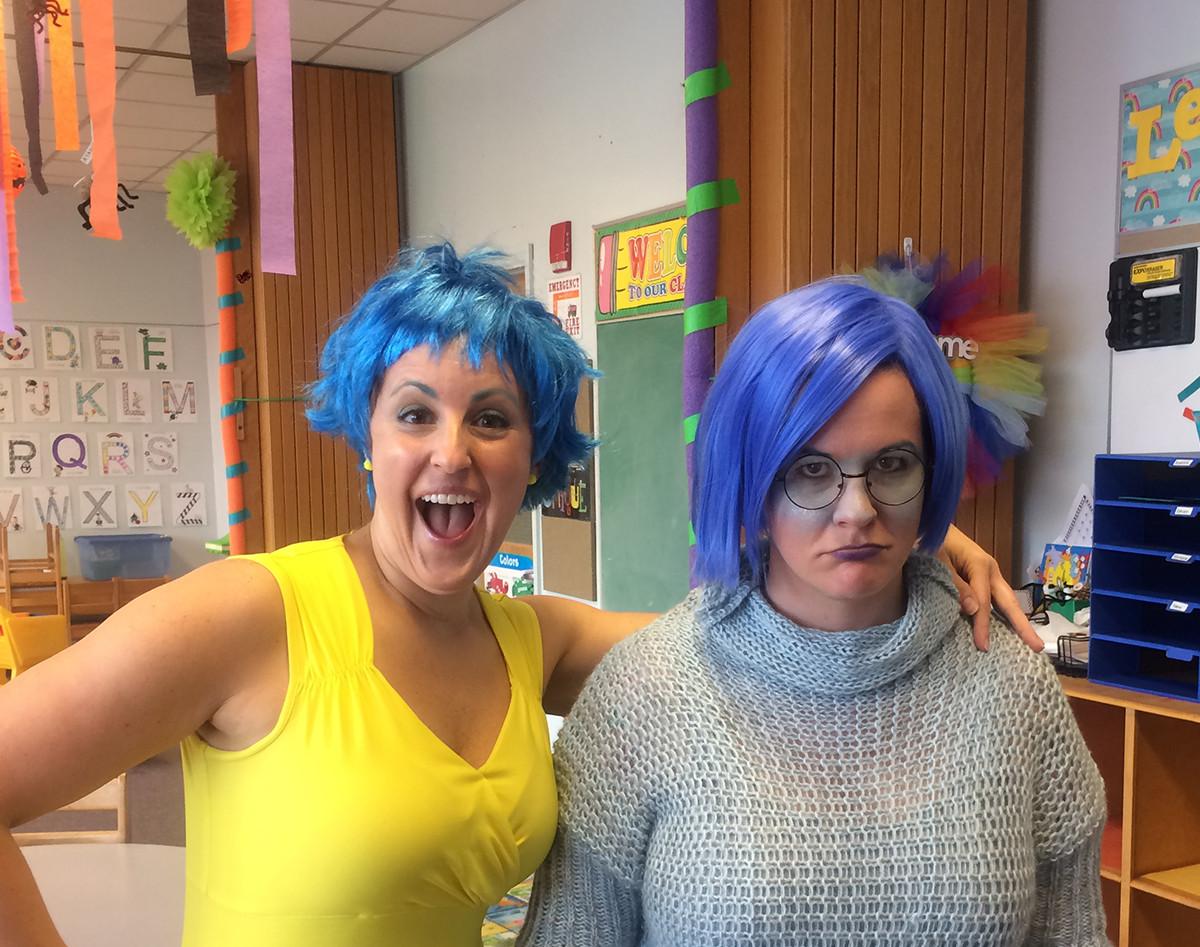 Our teachers, Joy and Sadness