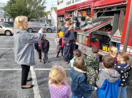 Fire truck day!