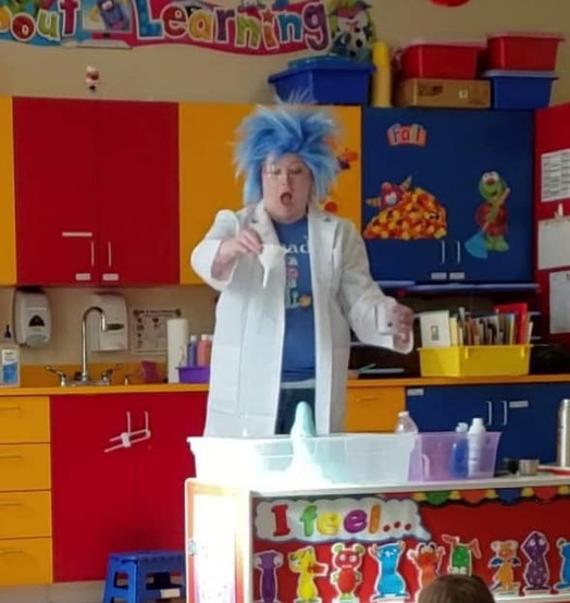 Science with Professor Blue!