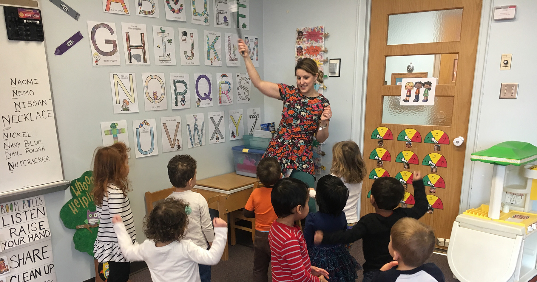 We learn our ABC's