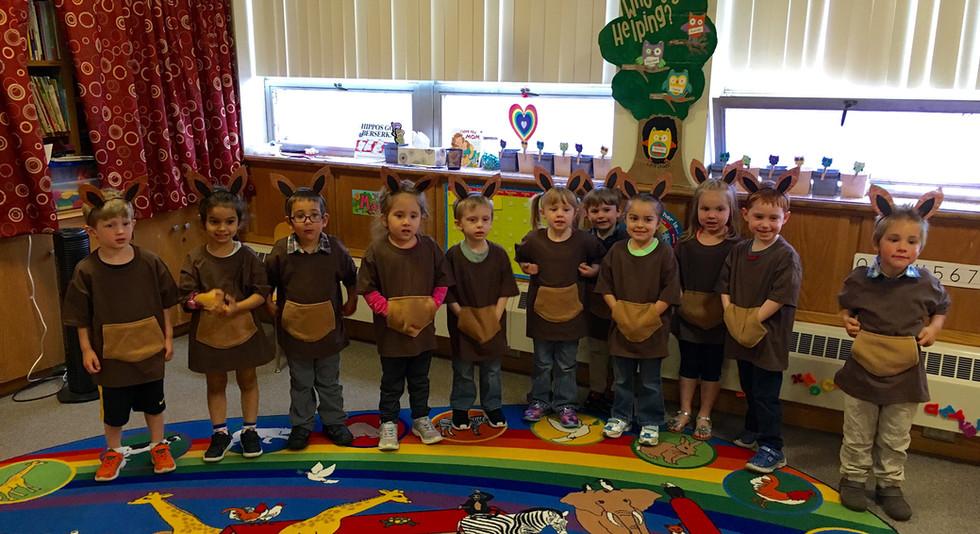 Spring program- we're kangaroos!