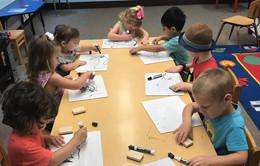 We practice writing