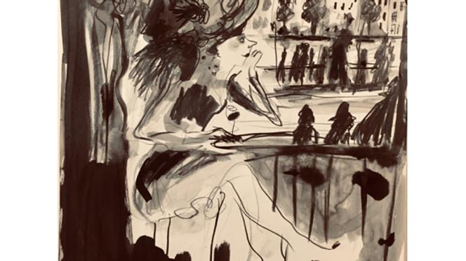 Rêver aux terrasses des cafés