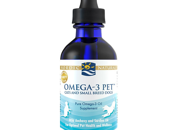 Omega-3 Pet- Cat & Small Dog Formula, 2oz