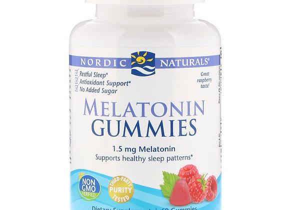 Melatonin Gummies, 1.5mg, 60ct