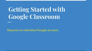 Getting Started with Google Classroom.jp