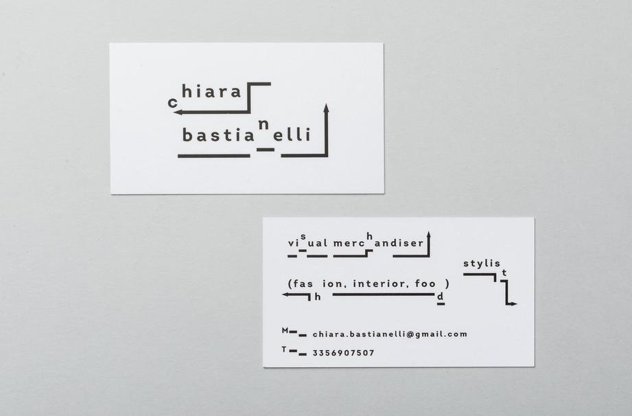 Chiara Bastianelli visual merchandiser