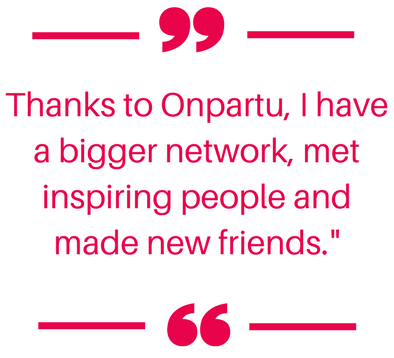 Bigger network, inspiring people and new friends