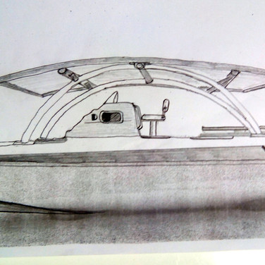 dessin catamaran electrosolaire